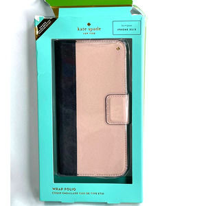 Kate Spade iphone X/XS folio case pre-owned